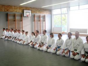 karate-begruessung